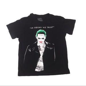 In squad we trust suicide squad joker t shirt